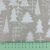 Fabric by the Metre - 847 Trees - Silver